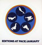 Affiche des éditions At Pace, 1969