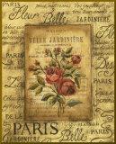 Bel Bouquet II - mini - Bordure dorée