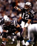 Tom Brady and Daniel Koppen - Super Bowl XXXVIII©Photofile