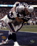Deion Branch and Tom Brady - Super Bowl XXXVIII Touchdown Celebration©Photofile