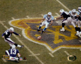 Adam Vinatieri - Super Bowl XXXVIII - Game Winning Field Goal (Horizontal)©Photofile
