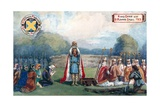 King Offa with St Alban