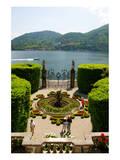 Buy Fountain in the park of Villa Carlotta, Tremezzo, Lake Como, Lombardy, Italy at AllPosters.com