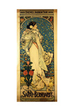 Buy A Poster for Sarah Bernhardt's Farewell American Tour, 1905-1906, C.1905 at AllPosters.com