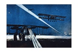 Buy Returning from Night Flight, Simulated Bombing, 1918 at AllPosters.com