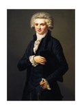 Portrait as Youth of Maximilien-Francois-Marie-Isidore De Robespierre