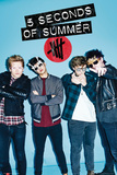 5 Seconds Of Summer - Glasses Poster