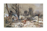 Buy American Infantry Attack on 18th July 1918 During the Aisne-Marne Counter Offensive at AllPosters.com