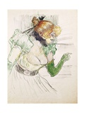 Artist with Green Gloves - Singer Dolly from Star at Le Havre, 1899