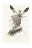 Heu-Topa, Four Horns or Jagoo, the Storyteller, Chief of the Hunkpapa Sioux, 1881