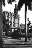 Gran Teatro De La Habana at Left, the Inglaterra Hotel to the Right, C.1955