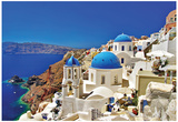 Amazing Santorini - Travel In Greek Islands Series Poster