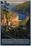 Buy La Riviera Italienne: From Rapallo to Portofino Travel Poster - Portofino, Italy at AllPosters.com