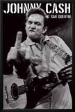 Johnny Cash- San Quentin Portrait