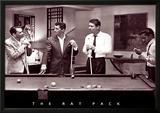 The Rat Pack Lamina Framed Poster