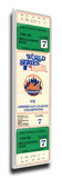 1986 World Series Game 7 Mega Ticket - New York Mets