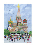 St. Basil's Cathedral, Red Square, 1995