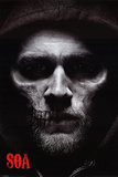 Sons of Anarchy - Jax Skull Sons of Anarchy - Bike Circle Sons of Anarchy - Jax Back