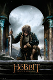 The Hobbit Battle of the Five Armies - Bilbo kneel