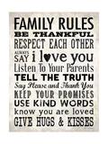 Family Rules - Cream