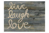 LLL Wood Live Well, Love Much, Laugh Often Live Laugh Love: Sunflower Words to Live By: Love Live Laugh Love Live Love Laugh Peel & Stick Wall Decals Live Well-Love Often-Love Much Peel & Stick Single Sheet Live, Love and Laugh Live Laugh Love (gold foil) Live Every Moment
