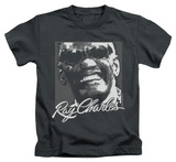 Youth: Ray Charles - Signature Glasses T-Shirt