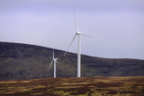 Wind Turbines on Scottish Moorland, Europe