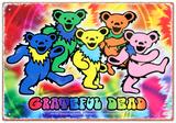 Grateful Dead Bears Tin Sign Tin Sign