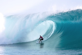 Billabong pro Teahupoo Surfing Photographic Print