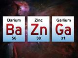 Ba Zn Ga Elements Big Bang Theory - Season 5 Mini Poste Big Bang Theory Sheldon Bazinga Television Poster I Love Science (Milky Way) Big Bang Theory Group Lifesize Standup big bang theory