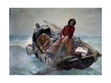 Fishing at Sea by Georges Haquette