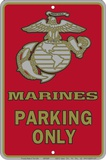 Marine Parking Only