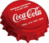Coke Bottle Cap Sign Tin Sign