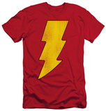 Shazam - Shazam Logo Distressed (slim fit)