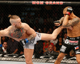UFC 178 - Poirier v Mcgregor Photographic Print