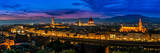 Florence, Italy - Skyline View at Twilight