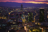 Mexico City at Twilight