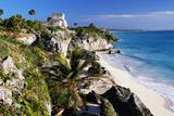 Mayan Ruins by the Sea