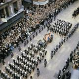 Sir Winston Churchill Funeral Procession