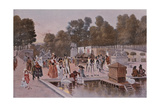 Buy In the Garden of the Tuileries at AllPosters.com