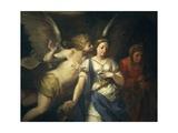Angel Inspiring Judith, 1698