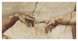 The Creation of Adam, c.1510 (detail) Giclee Print
