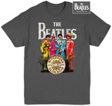 The Beatles - Sgt Pepper Pink Floyd - Dark Side Invasion Metallica - Logo BB King Performing on Stage using Black Les Paul in Grey Suit with White Cuffs and Collar Shirt The Beatles - Lonely Hearts Seal Led Zeppelin - Icarus 1975 David Bowie - Smoking Led Zeppelin - Man With Sticks Beastie Boys- Train Slash - Top Hat Grateful Dead- Steal Your Face Rolling Stones- Distressed Union Jack band shirt