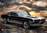 Ford Shelby Mustang 66 GT350 Giant Poster