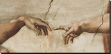 Buy The Creation of Adam, c.1510 (detail) at AllPosters.com