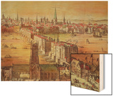 Old London Bridge, Detail from