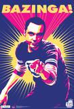 Big Bang Theory Sheldon Bazinga Television Poster I Love Science (Milky Way) Big Bang Theory Group Lifesize Standup big bang theory