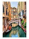 Buy Scenic Canal Gondola Venice at AllPosters.com