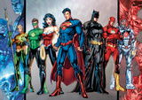 DC Comics - Group Foil Poster