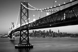 SF Bay Bridge Black And White San Francisco, California - Retro Skyline San Francisco Today's Won't For Tomorrow's Can't The Lindbergh Line, San Francisco, California San Francisco California. san+francisco